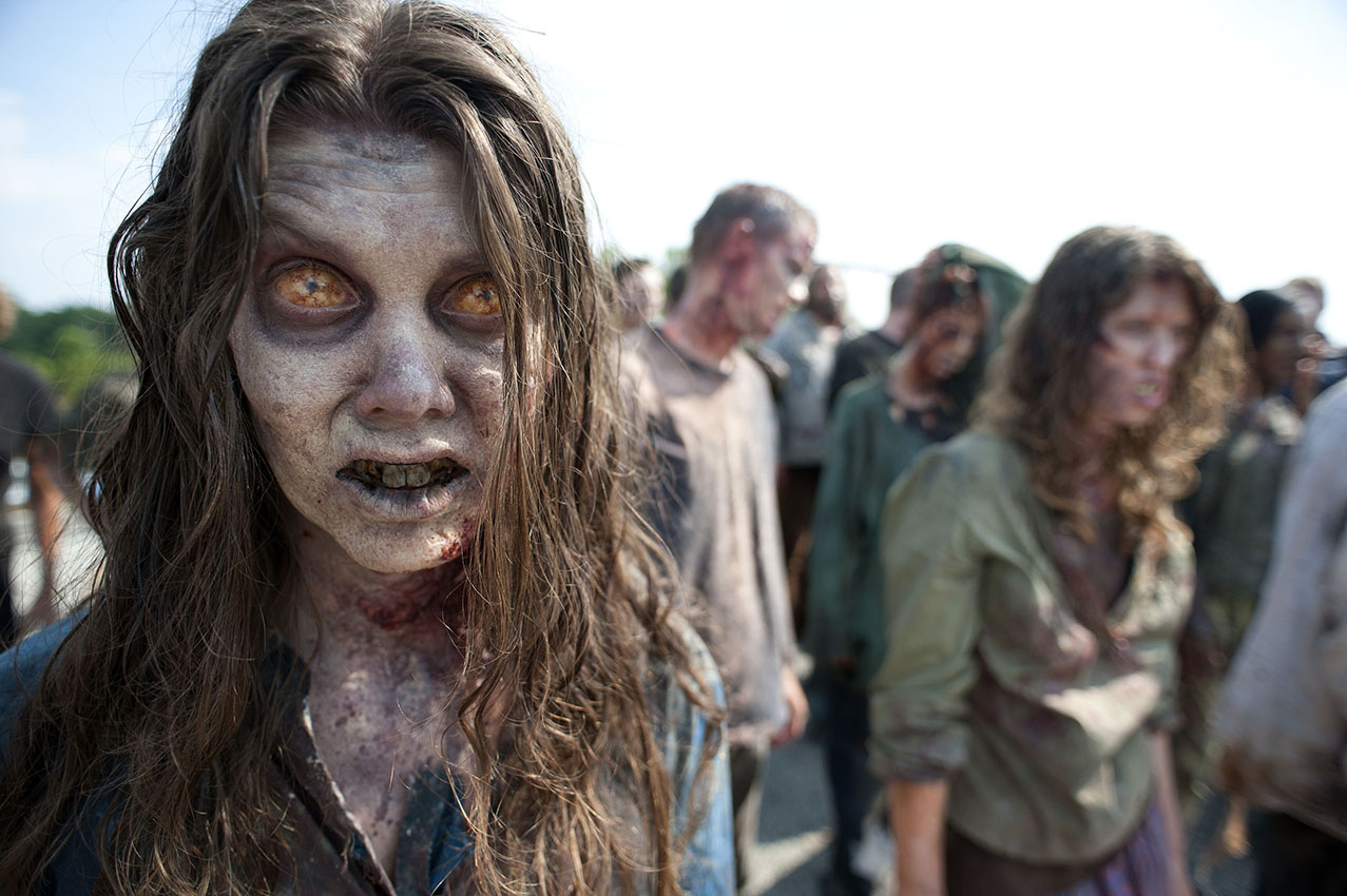 """How I went from filming Gators to shooting zombies on set of """"The Walking Dead"""""""